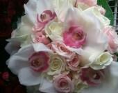Vintage Chic Bridal Bouquet by Green Orchid Design Studio