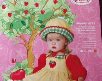 Apple Dumpling Costume Boutique Quality Size 2T Friends of Strawberry Shortcake