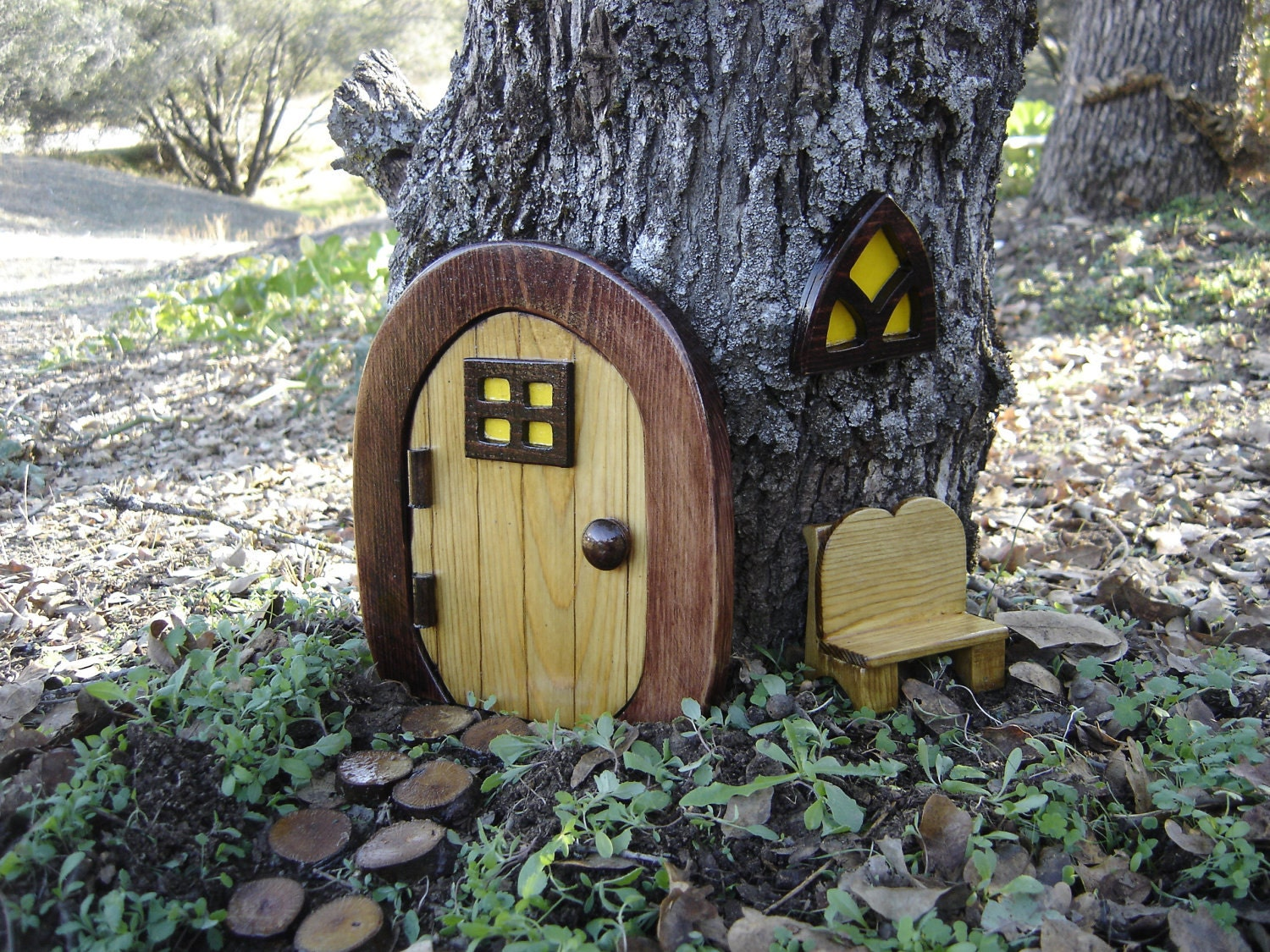 Items Similar To Miniature Garden, Fairy Door, Gnome Door
