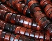 """Large Hole Beads Red Tiger Eye 10MM Heshi 7.5"""" Pieces Unisex"""