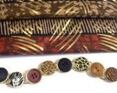 Big Jungle Buttons Bracelet