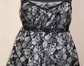 Catacomb Column Babydoll Dress- XL