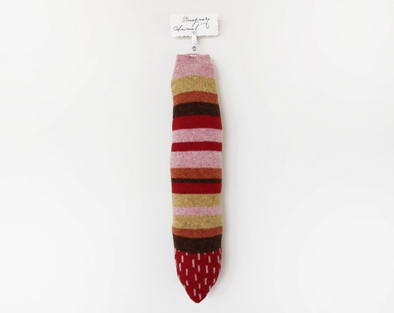 Animal tail - Imaginary Animal - pretend, soft knitted toy