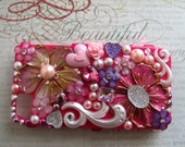 Pink Bling Iphone 4 / 4s Case