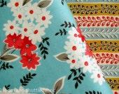 Denyse Schmidt Fabric Fat Quarter Flea Market Fancy Legacy Bouquet Turquoise