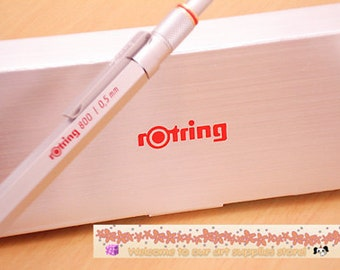 Rotring 800 Mechanical Pencil 0.5mm Silver With Gift Box for Rotring Brand New