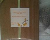 Peppermint Rose Herbal Bath Tea - All Natural Herb Flowers
