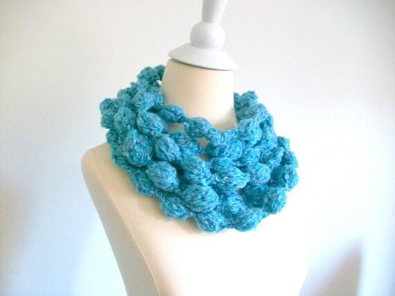 Infinity,Blue Fashion,unique  scarf