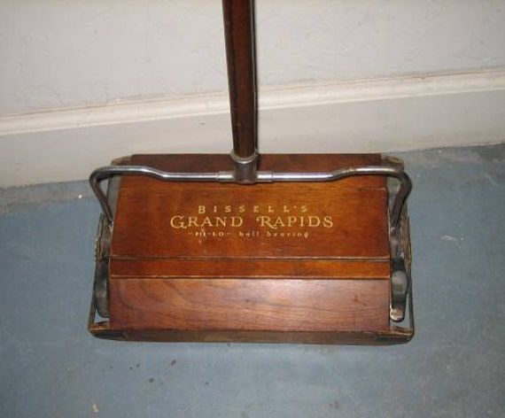 Items Similar To Antique Bissell S Floor Sweeper On Etsy
