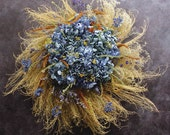 "Dried flower wreath, sustainably created: ""Central Park"""