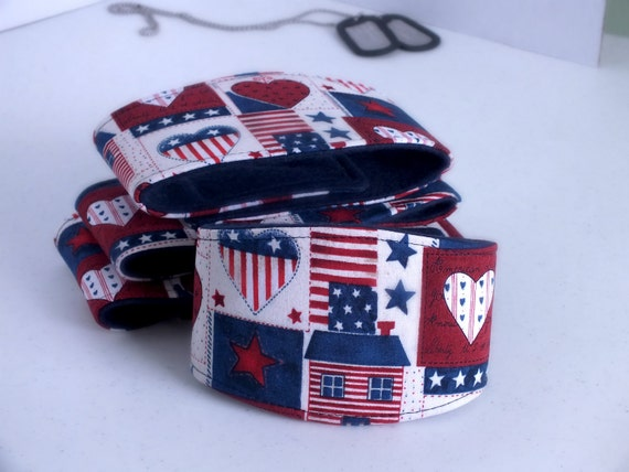 Patchwork America Dog Belly Band for male dogs with incontinence or marking issues. XS Long