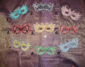 Your Choice of 2 Embroidered Masks - Free Shipping