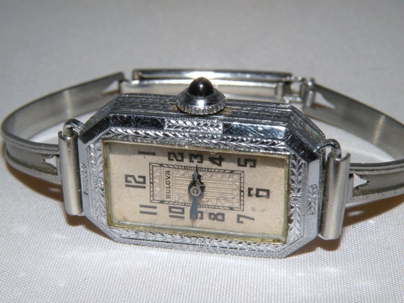 1930s to 40s Bulova Gold Filled Watch