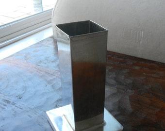 "2x6"" metal candle mold"