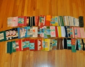 Bulk vintage sewing accessories - seam binding, bias tape, ric rac etc x90