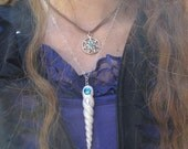unicorn horn necklace and gift box