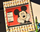 Customized Mickey Mouse Mania Planner 2013
