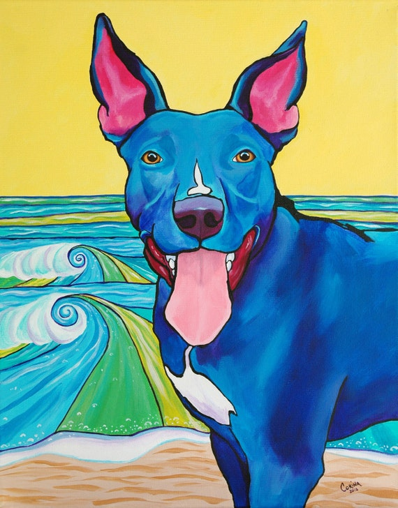Custom POP ART Portrait 16 x 20 - Any Animal, Your Choice - by Corina St. Martin
