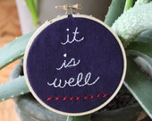 Peace Embroidery