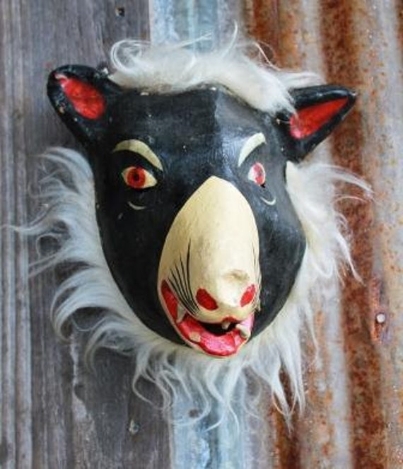 Animal Mask made in Mexico