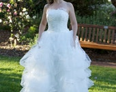 Vera Wang inspired Wedding Gown 2012 new style ball gown