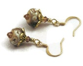 Handmade lampwork earrings