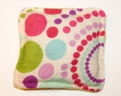 Ouchie Bag, Microwave Heat Pack,  Cold Pack, Kids Hot Cold Pack, Girly Circles