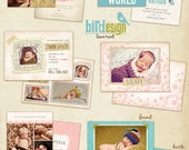 Birth announcements cards templates  - Welcome - E270