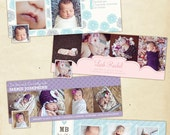 INSTANT DOWNLOAD - Facebook Timeline Cover Collection - Birth Announcement - E386