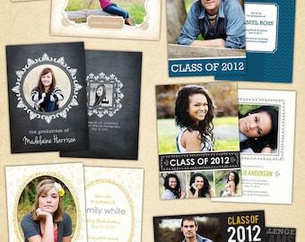 Graduation announcement - PSD Templates -Our Memories- E396