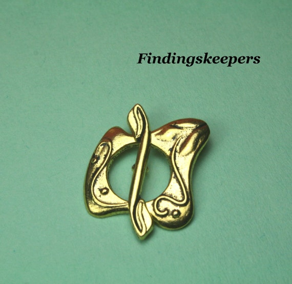 4- Sets Dark Gold Toggle Clasps cn020-1