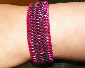 Aluminum and Neoprene Bracelet