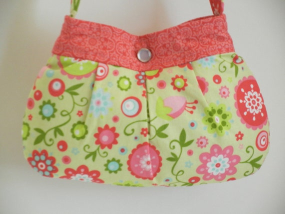 Little Girl Purse Child Buttercup Bag Ready to Ship