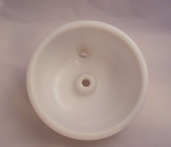Milk White Glass Juicer Bowl for Vintage Sunbeam Mixmaster Electric Stand Mixer