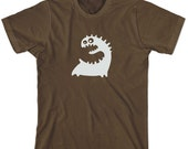 Monsters - T Shirt - Men - Stedman Comfort Brown Shirt  - Available in S, M, L, XL