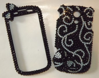 CUSTOM Rhinestone Bling Cell Phone Cover Case