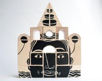 Phalanx (Wood Sculpture) Set E