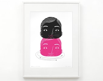 Facade (Block Print)