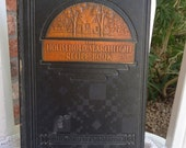Vintage Household Searchlight Recipe Book - 1935  - 8th Printing - with Extra Hand Written Recipes