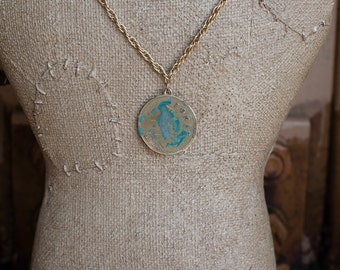 Vintage Brothel Token Necklaces: Chicago, Amsterdam, Paris