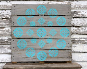 Hand Painted Repurposed Pallet