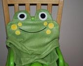 Soft Frog Fleece Pillowcase