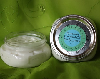 Organic Body Lotion with Rosemary Essential Oils 8 oz.