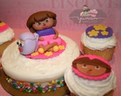 Full Set Dora the Explorer Fondant Toppers