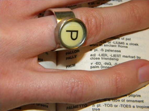 Typecast Ring: P is for Pally