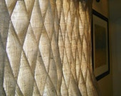 Items Similar To Burlap Smocked Curtains Amp Drapes In