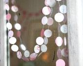 pale pinks sweet baby garland - 10 FT