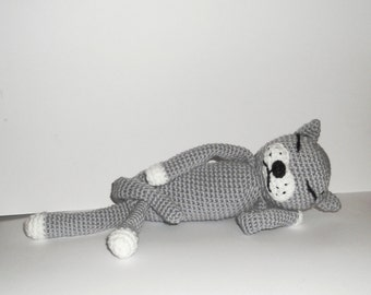 PDF Crochet Pattern - Crochet Pattern, Crochet Cat Pattern, Amigurumi Crochet Cat PDF Pattern
