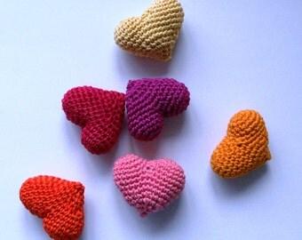 Amigurumi heart crochet Pattern, Crochet Haert Pattern, PDF Pattern