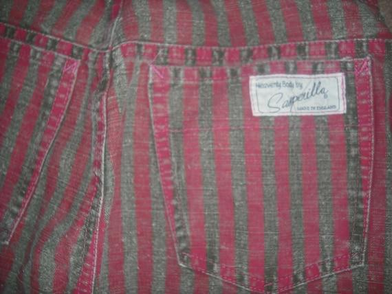 vintage 80's punk pants, heavenly body by sasparilla ,england